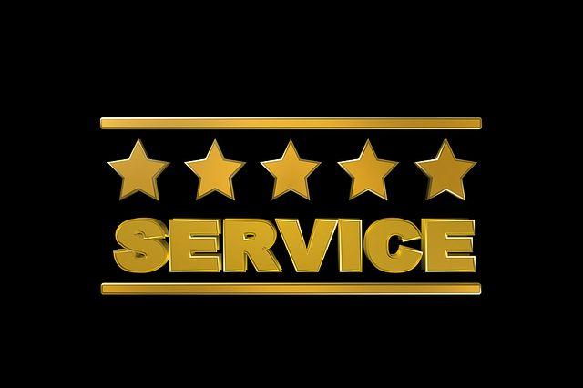 service 4 étoiles